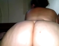 Bbw in Heat riding black dick