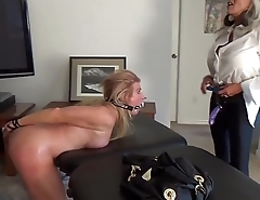 Watch her squirt when I pull my Dildo out of her  ASS  Sally D'_angelo Mandy vixen