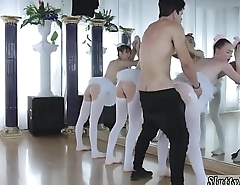 Teen fingering pussy close up and boring party xxx Ballerinas