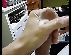 Me busting another huge nut... Big Cumshot &amp_ making a mess