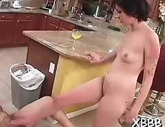 Naughty gals just can'_t get enough of cock and ball torment