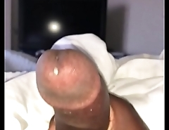 Stroking My Dick in the Hotel