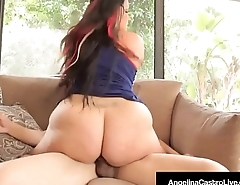 Amazing BBW Angelina Castro Gets Cum On Face By A Brown Cock