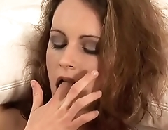 Petite milf stretches her wet pussy and asshole