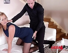 Submissive Fetish Babe Nikky Dream is Collared, Cuffed, and Deeply Ass Fucked GP166