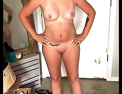 HD POV: AMATEUR BLONDE WIFE&rsquo_S TITS, ASS &amp_ PUSSY POSING!!