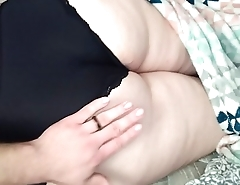 sleeping wife'_s ass in panties