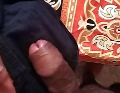 Akki Jerking on Mom Panty