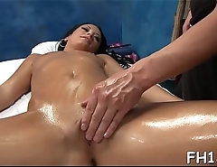 Pretty babe gets much greater amount than just a massage!
