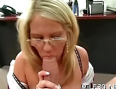 Hawt mature babe is getting a zealous rimming from stud