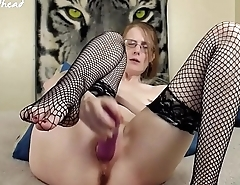 fishnet orgasm