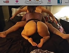Latina Maid Cock Sucking, Pussy Licking &amp_ Big Booty Bouncing Best Time Life