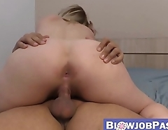 Voluptuous Lucia Fernandez creampied after ramming