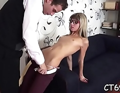 Sexy slut can never get sufficiently of merciless sex and hot joy