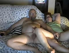 my wife strokes my cock